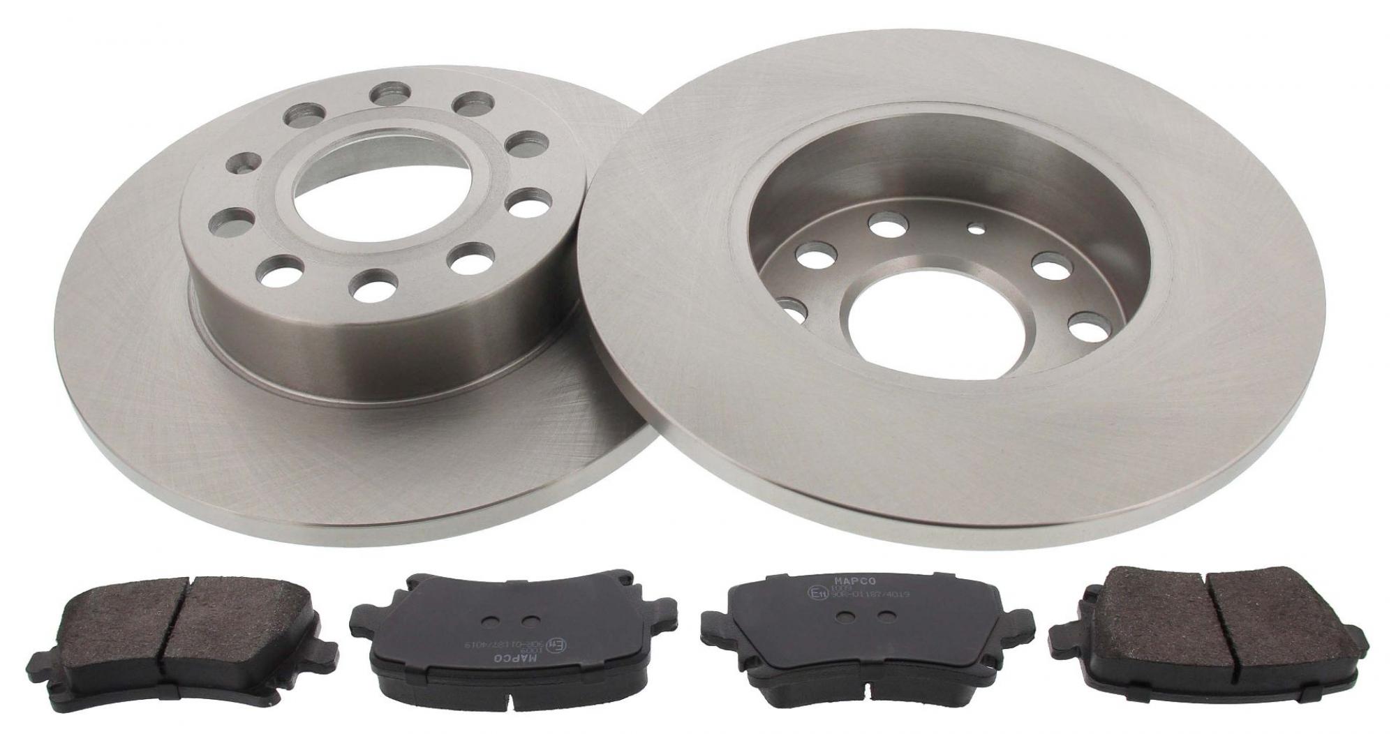 MAPCO 47837 brake kit