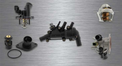 Thermostat & Thermostat Housing