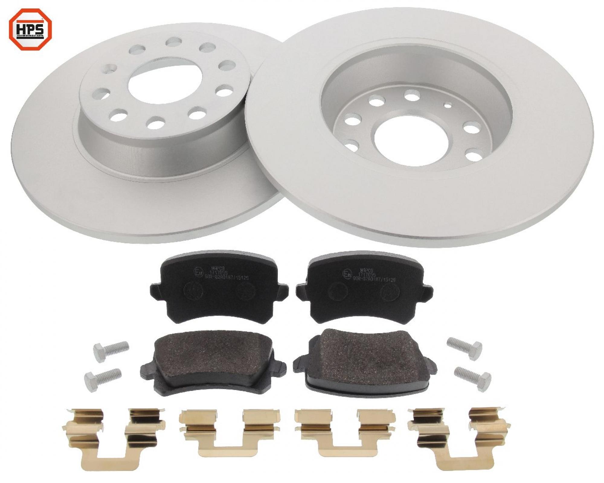MAPCO 47906HPS brake kit