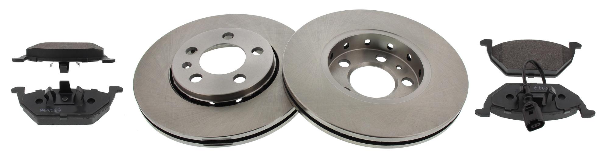 MAPCO 47855 brake kit