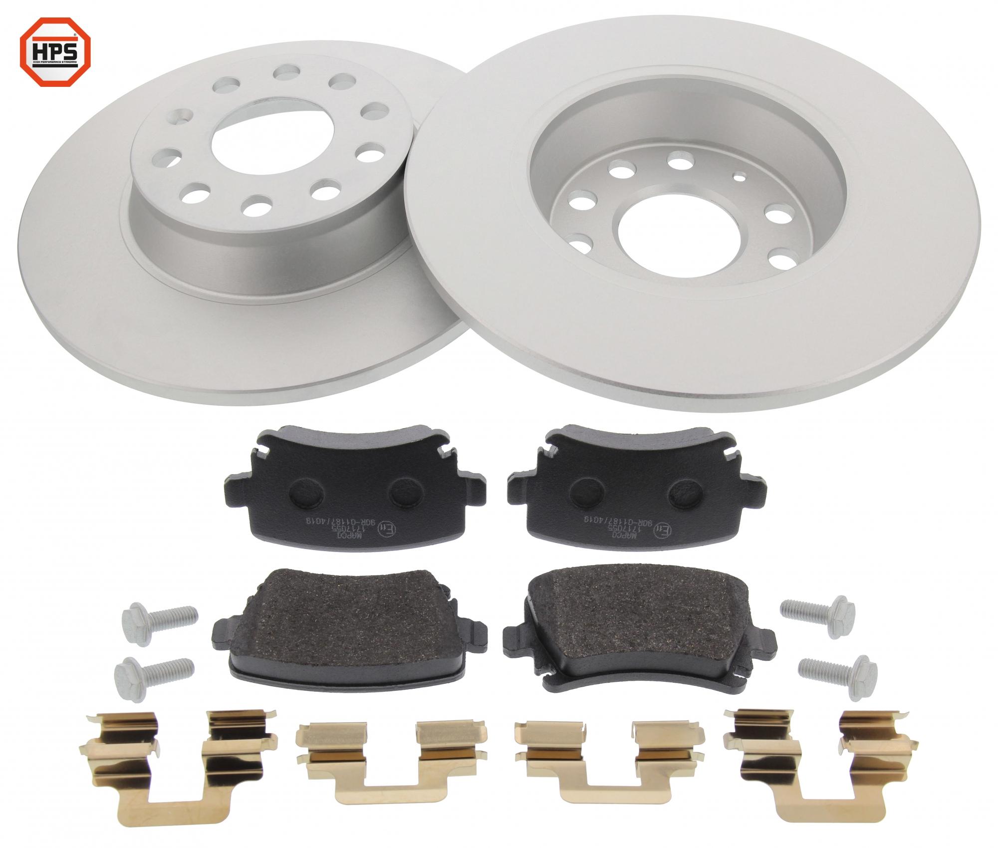 MAPCO 47841HPS brake kit