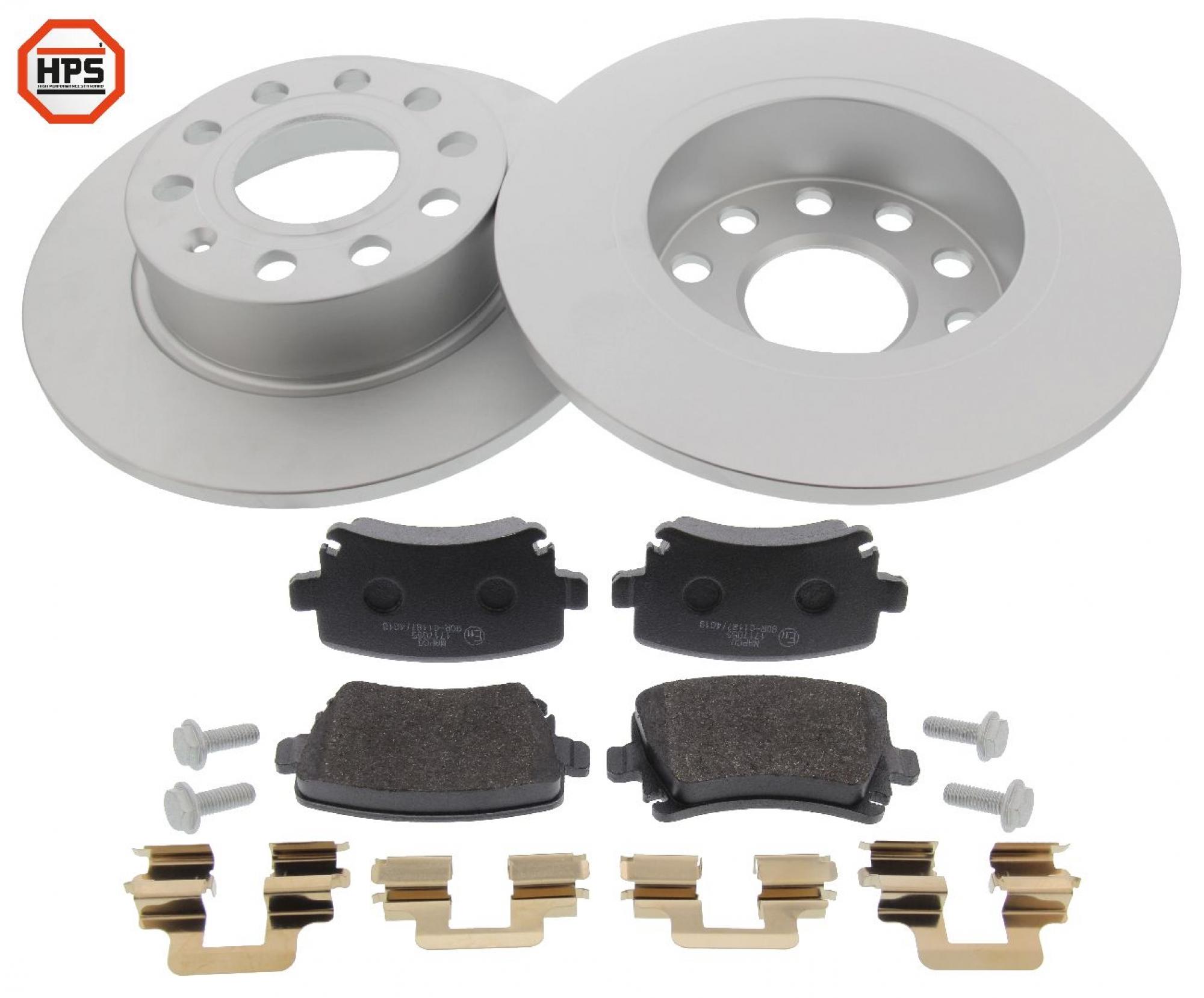 MAPCO 47842HPS brake kit