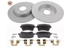 MAPCO 47904HPS brake kit