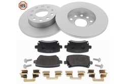 MAPCO 47837HPS brake kit