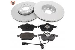 MAPCO 47927HPS brake kit