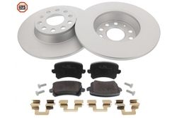 MAPCO 47906HPS brake kit