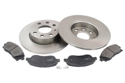 MAPCO 47684 brake kit