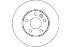 MAPCO 15839 Brake Disc