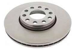 MAPCO 25870 Brake Disc