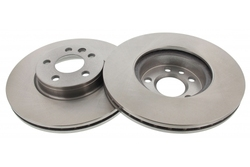 MAPCO 25843/2 Brake Disc