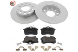 MAPCO 47931HPS brake kit