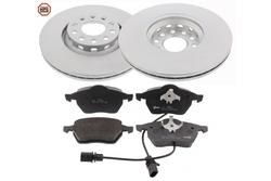 MAPCO 47899HPS brake kit