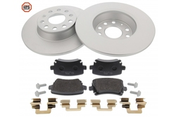 MAPCO 47841HPS brake kit