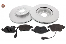 MAPCO 47833HPS brake kit