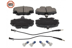 MAPCO 6377HPS Brake Pad Set, disc brake