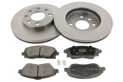 MAPCO 47672 brake kit