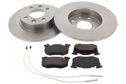 MAPCO 47157 brake kit