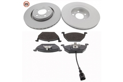 MAPCO 47857HPS brake kit