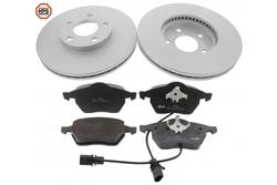 MAPCO 47910HPS brake kit