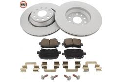 MAPCO 47897HPS brake kit