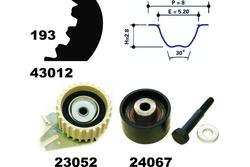 MAPCO 23012 Timing Belt Kit
