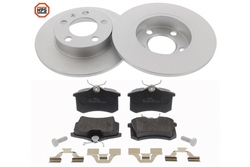 MAPCO 47858HPS brake kit