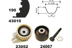 MAPCO 23010 Timing Belt Kit