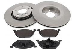 MAPCO 47857 brake kit
