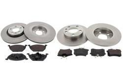 MAPCO 47857/1 brake kit
