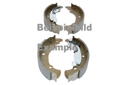 MAPCO 9764 Brake Shoe Set