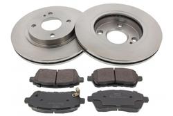 MAPCO 47663 brake kit