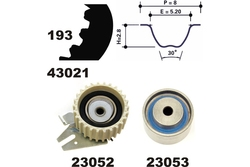 MAPCO 23021 Timing Belt Kit