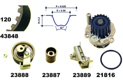 MAPCO 41848 Water Pump & Timing Belt Kit