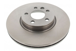 MAPCO 25843 Brake Disc