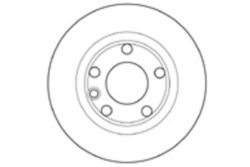MAPCO 15756 Brake Disc