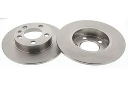 MAPCO 15837/2 Brake Disc