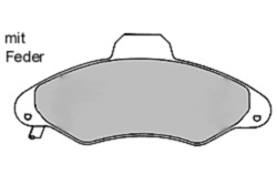 MAPCO 6388/1 Brake Pad Set, disc brake