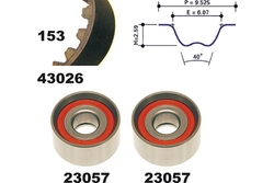 MAPCO 23026 Timing Belt Kit