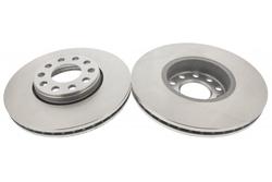 MAPCO 25870/2 Brake Disc